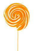 Colourful lollipop isolated on the white background — Stock Photo