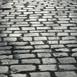 Cobbles on street - cbe used as background — Stock Photo #4366034
