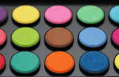 Painter's palette - shallow depth of field — Stock Photo