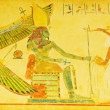 Stock Photo: Egypticoncept with drawings on wall