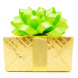 Gift box isolated on the white background - 图库照片