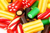 Background made of colourful sweets — Stock Photo