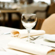 Wine glasses on the table - shallow depth of field — Stock Photo #4422478