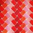 Texture of coloured silk tie - can be used as a background — Stock Photo