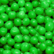 Close up of background with green round shapes — Stock Photo #4425384