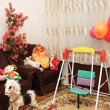 Various toys in the children room — Stock Photo