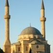 Mosque with two minarets in Baku, Azerbaijan — Stock Photo #4428616