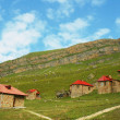 Remote village in the mountains — Stock Photo