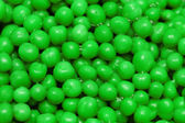 Close up of background with green round shapes — Stock Photo