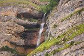Vattenfall från höga klippor - azerbajdzjan — Stockfoto