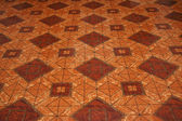 Colourful tiles on the floor — Stok fotoğraf
