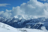 Mountains in winter — Stock Photo