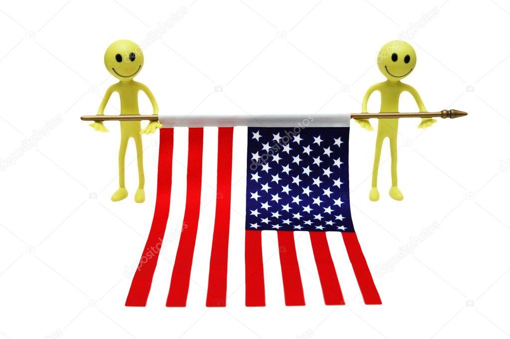 смайлики флаги: