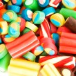 Background made of colourful sweets — Stock Photo #4440646