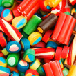 Background made of colourful sweets — Stock Photo #4445084