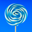 Colourful lollipop against the colourful background — Stock Photo #4480224