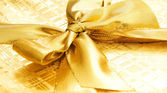 Luxe-geschenketui geïsoleerd op de witte achtergrond — Stockfoto
