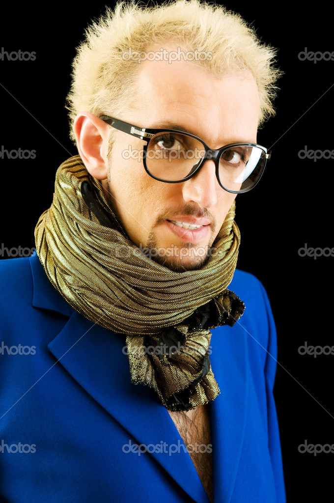 Portrait of a man with glasses — Stock Photo #4511116