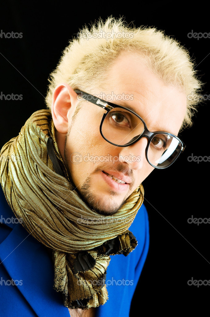 Portrait of a man with glasses — Stock Photo #4516434