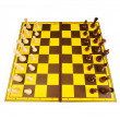 Chess figures isolated on the white background — Stock Photo #4538494
