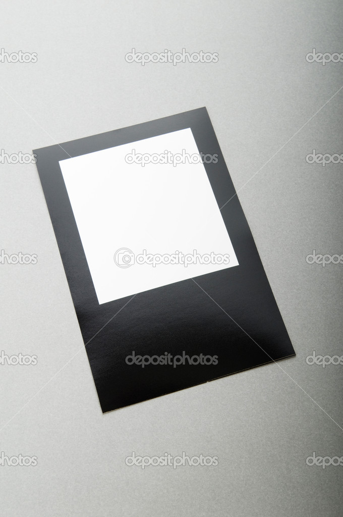 Designer concept - blank photo frames for your photos — Stock Photo #4532091