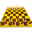 Chess figures isolated on the white background — Stock Photo #4558101
