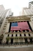 ニューヨーク - 4 9 月 2010 - ウォール街と証券取引所 — ストック写真