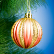 Royalty-Free Stock Photo: Christmas decoration on the tree - holiday concept