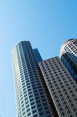 波士顿-7 sep-城市全景的摩天大楼 — 图库照片