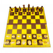 Chess figures isolated on the white background — Stock Photo #4592188