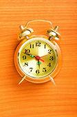 Pojem o čase - budík na pozadí — Stock fotografie