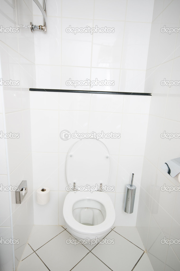 Interior of the room - Toilet in the bathroom  — Stock Photo #4591411