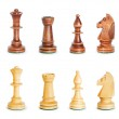 Chess figure isolated on the white background — Stock Photo #4603017