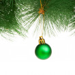 Christmas decoration isolated on the white background - Foto de Stock