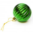 Christmas decoration isolated on the white background - Photo