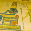 Egyptian concept with paintings on the wall — Foto Stock