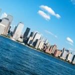 New York city - 4 Sep - panorama with skyscrapers — Stock Photo #4616504