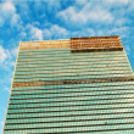 New York city - 4 Sep - panorama with skyscrapers — Stock Photo #4616507