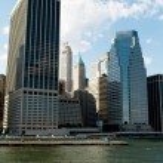 New York city - 4 Sep - panorama with skyscrapers — Stock Photo #4616967