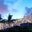 Panorama of the hotel near sea side - Foto de Stock  