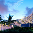 Panorama of the hotel near sea side — Stock Photo #4619870