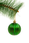 Christmas decoration isolated on the white background — Stock Photo