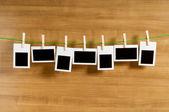 Designer concept - blank photo frames for your photos — Stock Photo