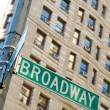 Royalty-Free Stock Photo: Famous broadway street signs in downtown New York