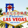 Famous Las Vegas sign on bright sunny day — Stockfoto #4639806