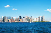 New York city - 4 Sep - panorama with skyscrapers — Stock Photo