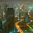 Panorama of down town Dubai city - UAE — Stock Photo #4640210