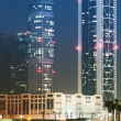 Down town of Dubai city — Stock Photo