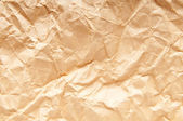 Wrinkled paper close up for your background — Stock Photo