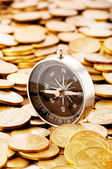 Financial concept - navigating in difficult times for markets — Stock Photo